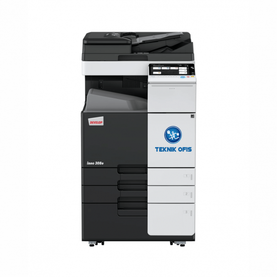 Develop ineo 368 fotokopi makinesi siyah