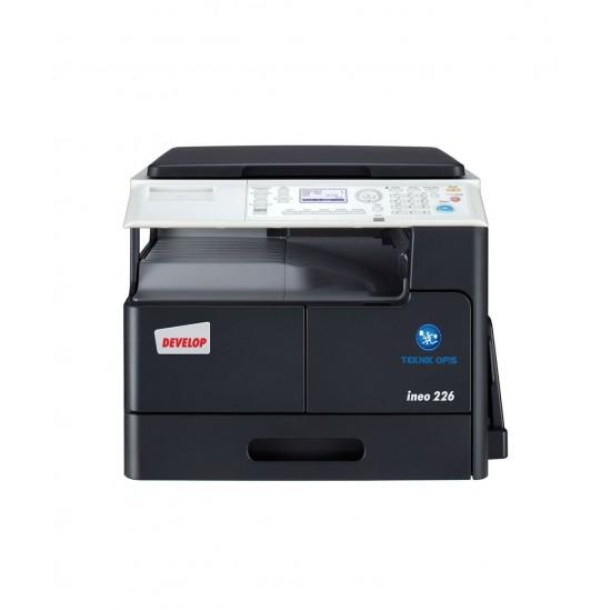 Develop ineo 266 fotokopi makinesi siyah
