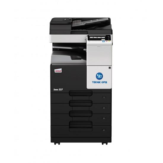 Develop ineo 287 fotokopi makinesi siyah
